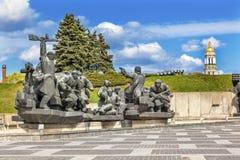 Soviet Soldiers World War 2 Monument Kiev Ukraine Stock Image