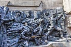 Soviet Soldiers World War 2 Monument Kiev Ukraine Stock Photo