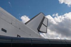 The Soviet space shuttle Buran, closeup view. Stock Photos