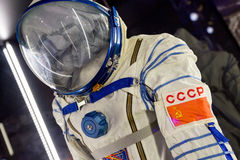 Soviet space suit of astronaut Stock Images