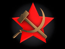 Soviet star Stock Photography
