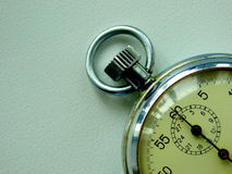 Soviet stopwatch to measure. Time old clock face Royalty Free Stock Photo