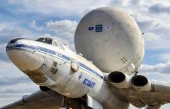 The Soviet strategic-airlift airplane Myasishchev VM-T Atlant Stock Photos