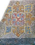 Soviet style mosaic tile Stock Photos