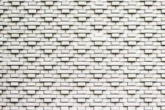 Soviet style white brick wall Royalty Free Stock Photo