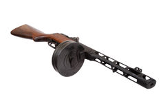 Free Soviet Submachine Gun Ppsh Royalty Free Stock Images - 21613449