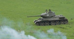 Soviet tank. Royalty Free Stock Image