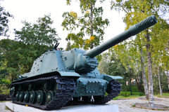 Soviet tank Stock Photography
