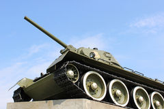Soviet tank. Soviet military tank of the World War II Royalty Free Stock Photography