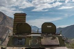 Soviet tank in afghanistan Royalty Free Stock Photos