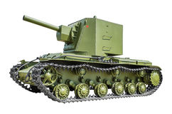 Soviet tank KV2 Stock Image
