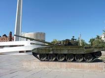 Soviet tank Stock Image