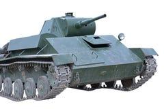 Soviet tank of period of the second world war Stock Photos