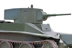 Soviet tank of period of the second world war Royalty Free Stock Image