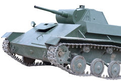 Soviet tank of period of the second world war Stock Photo