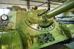 Soviet tank Self-propelled artillery SU-122-54 1954 Royalty Free Stock Photo