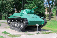 Soviet tank T-70M Royalty Free Stock Images