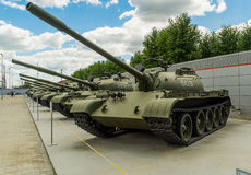 The Soviet tank T-72. Exhibit of a military historical museum Stock Images