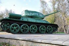 Soviet tank T34 Stock Photo