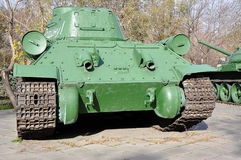 Soviet tank T34 Stock Photos
