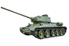 Soviet tank  T-34/85 Stock Photography