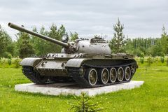 Soviet tank T-54 Stock Images