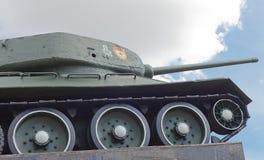 Soviet tank T-34 in Minsk Stock Photos
