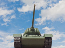 Soviet tank T-34 in Minsk royalty free stock photography