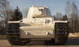 Soviet tank royalty free stock photo
