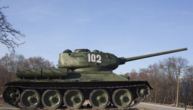 Soviet tank  Stock Photography