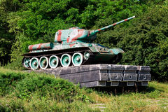 Soviet tank from WW2 Royalty Free Stock Photos
