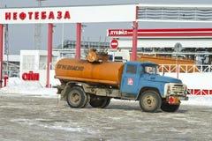 Soviet tanker truck ZIL Stock Photography
