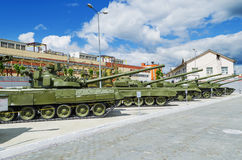 Soviet tanks - the Museum exhibits Royalty Free Stock Images