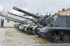 Soviet tanks Stock Images