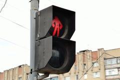 Soviet traffic light Royalty Free Stock Photography
