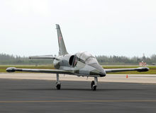 Soviet training jet Royalty Free Stock Photo