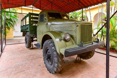 Soviet Truck - Cuba Royalty Free Stock Photography