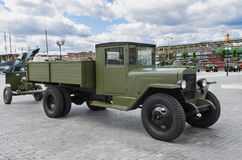 Soviet truck ZIS - 5 Stock Image
