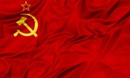 Soviet Union Flag Royalty Free Stock Photo