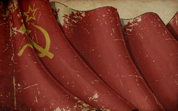 Soviet Union Old Paper Background Royalty Free Stock Photos