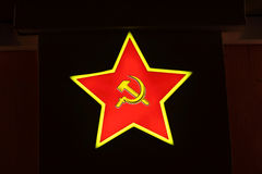 Soviet union red star Royalty Free Stock Photos
