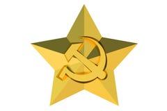 Soviet Union star badge Stock Photos