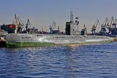 Soviet union submarine Stock Photo
