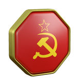 Soviet Union symbol Stock Images