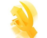Soviet USSR symbol Royalty Free Stock Images