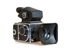 Soviet vintage medium format camera Stock Images
