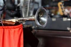 Soviet Vintage - Old pioneer horn Stock Images