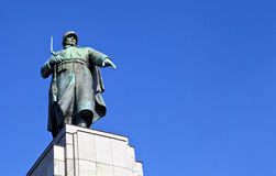 Soviet War Memorial in Berlin Stock Image