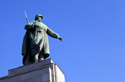 Soviet War Memorial in Berlin Stock Images