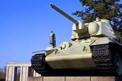 Soviet War Memorial in Berlin Stock Photos
